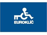 Seznam přístupných míst s toaletami, výtahy či plošinami osazenými eurozámky