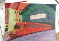Kouzelný svět na kolejích - Výstava kreslíře s poruchou autistického spektra (TZ)